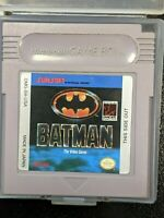 Batman: The Video Game Nintendo Original Game Boy TESTED + WORKING & AUTHENTIC!