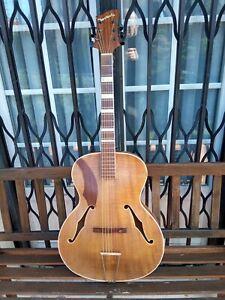 Guitare jazz Manouche Nevada Jacobacci vintage