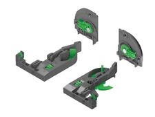 Grass DYNAPRO 4D Front and Rear Clips and Adaptor F134108955101 / 433.19.090