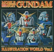 Gundam illustration world Ver 1 illustration art book