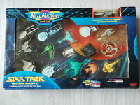 ☆STAR TREK☆ MICRO MACHINES 1993 LIMITED EDITION COLLECTOR SET 16 SHIPS