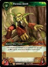 Vicious Grell Loot Card World of Warcraft  WoW TCG