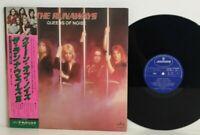 The Runaways – Queens Of Noise 2LP 1977 Japan Hard Rock Joan Jett VINYL w/ obi