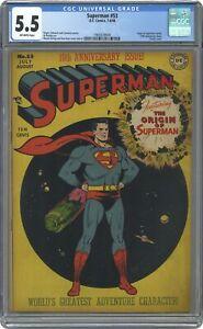 Superman #53 CGC 5.5 1948 1969339004