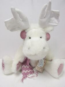 "Boyds #904452 ""Moosley Crystalfrost"" Boyds Best Dressed PRISTINE NEW  Mint Tags"