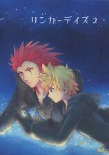 Kingdom Hearts II doujinshi AXEL & ROXAS Fan Book comic Reincar Days 2 yuji