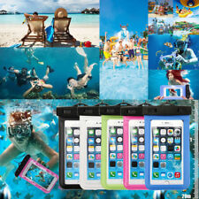 2x Waterproof Touch Screen Case Underwater Dry Bag Cover Universal For iPhone