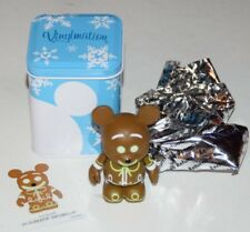 "Disney Vinylmation 3"" Park Set 1 Very Merry Christmas Gingerbread Man With Tin"