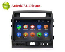 Android 7.1 10.2 inch GPS Nav Video Player Radio for Toyota  Land Cruiser LC200