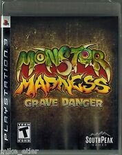 Monster Madness: Grave Danger (Sony Playstation 3, 2008) Factory Sealed