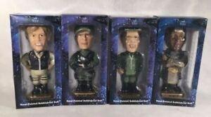 Stargate SG-1 Bobble Head Figure Set of 4 O'Neill Carter Jackson Teal'C