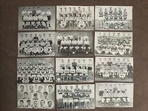 DC Thomson STAR TEAMS OF 1961 Football & Rugby team cards