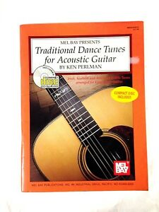 TRADITIONAL DANCE TUNES FOR ACOUSTIC GUITAR WITH CD By Ken Perlman (1996)