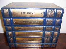 Easton Press SACRED WRITINGS OF WORLD'S GREAT RELIGIONS 6 vols Torah Gospels