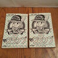 Dr. Slump - Rare Japanese Manga Anime Book Vintage Jump Comics OOP LOT 1985