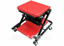 "36"" Foldable Creeper Stool Seat Foldable Fold Workshop Equipment Garage CT0805"