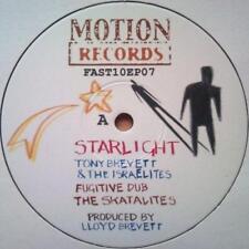 """TONY BREVETT & THE ISRAELITES - STARLIGHT / SKATALITES SEALING DUB 10"""" Vinyl EP"""