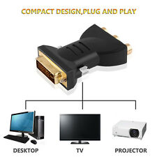 DVI 24+5 Male To 3 RCA Female Component Video Adapter Converter Connector