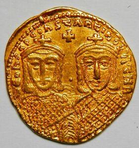 Byzantine Empire Constantine VI AV solidus (780-787) XF (Sear:1584) [4.40 grams]