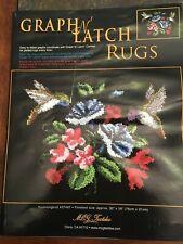 "Mary Maxim Latch hook kit   30"" X 36""  HUMMINGBIRDS KIT #37497 by MCG TEXTILES"