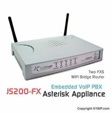 2 Ports VoIP FXS ATA Phone Gateway w/ WIFI SIP/IAX2 Router/Bridge JS200-FX