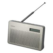 5f933d173aaf Goodmans CANVASSTE DAB/FM Radio Steel Finish   Battery Operation/Headphone