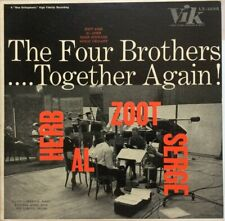 """ZOOT SIMS """"THE FOUR BROTHERS.......AGAIN!"""" 1957 VINTAGE JAZZ NEAR MINT CONDITION"""