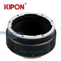 Kipon Adapter for Mamiya 645 M645 Lens to Fuji Fujifilm GFX 50R GFX100 Camera