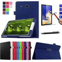 New Leather Flip Folio Case Stand Cover For Samsung Galaxy Tab S4 10.5 T830 T835