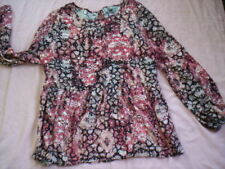 Viscose Summer/Beach Floral Tops & Blouses for Women