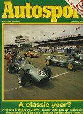 AUTOSPORT FEB 4th 1982 * VW SCIROCCO GTI ROAD TEST *