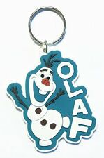 FROZEN MOVIE OLAF SNOWMAN RUBBER KEYRING NEW 100% OFFICIAL MERCHANDISE