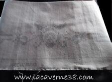 Broderie ancien point de croix à faire sur toile coton/lin 32x18cm motif 32x9cm