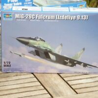 Trumpeter 01675 1:72 Bausatz Kampfflugzeug MIG-29C Fulcrum Izdeliye 9.13 in OVP
