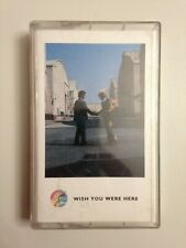 K7 CASSETTE AUDIO PINK FLOYD WISH YOU WERE HERE