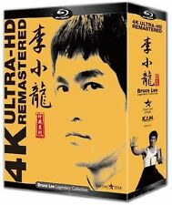 Bruce Lee Legendary 4K Ultra-HD Remastered Collection Region A 4 Blu-Ray Box Set