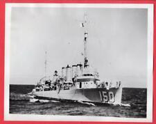 1942 Destroyer DD-150 USS Blakeley Damaged by Torpedo 7x9 Original News Photo