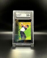 2001 Upper Deck Golf Tiger's Tales Tiger Woods SGC Gem Mint 10 ROOKIE RC #TT13