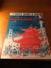 Sheet Music: I enjoy Being a Girl, Flower Drum Song, 1958