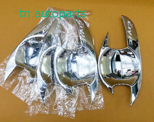 SET CHROME HANDLE BOWL INSERT COVER TRIM FOR HONDA FD CIVIC 2006-2011 SEDAN