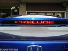 Honda Prelude Spoiler 3rd brake light decal overlay 97-01