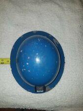 Msa Hard Hat Mine Safety Helmet Cap Vintage Full Brim Blue With Lining And Light