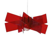 Lampada a Sospensione Emporium Kartika Grande Rosso