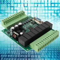 PLC Industrial Programmable Control Board FX1N 20MR For Automatic Control 22-28V