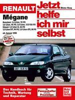 RENAULT Megane ab 1996 Reparaturanleitung Reparaturbuch Reparatur-Handbuch Buch