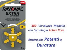 30 pile RAYOVAC Extra 10 Pr70 per protesi acustiche apparecchi acustici