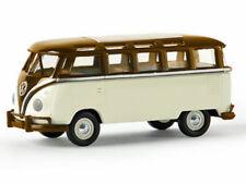 Brekina 31826 VW Volkswagen Samba T1b rehbraun elfenbein TD 1:87 Neu