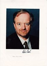 ROBIN COOK SIGNED COLOUR PHOTOGRAPH 8 x 6 INCH.