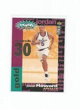 1995-96 CC YOU CRASH THE GAME GOLD JUWAN HOWARD #C3 30 MARCH NM-MINT RARE!!!