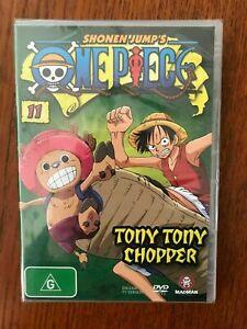 Shonen Jump's-One Piece-Vol 11:Tony Tony Chopper DVD Region 4 New & Sealed Anime